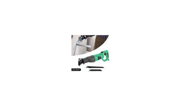 Hofftech Reciprozaag - 710Watt - 115mm - Draaibaar handvat