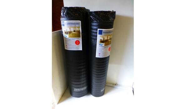 Laminaat vloer eiken design 40,9 m2 met ondervloer
