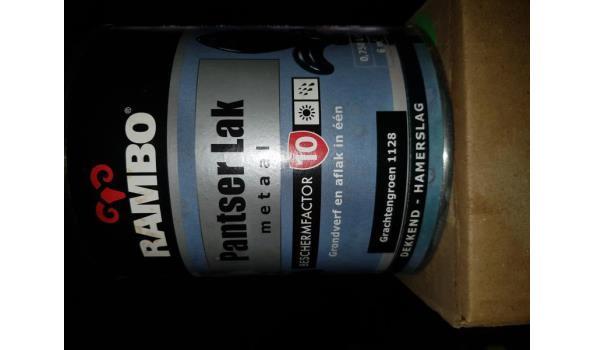 Rambo pantser metaallak