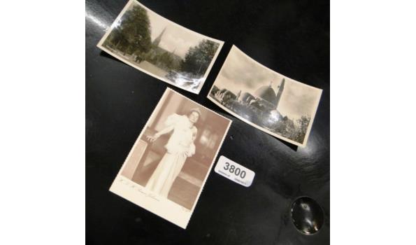 3 oude ansichtkaarten