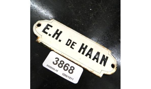 Emaille naambord