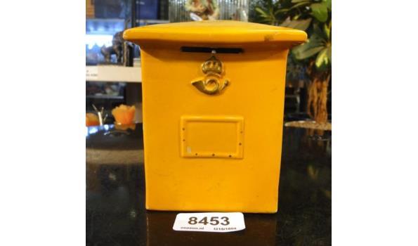 Porseleinen brievenbusspaarpot