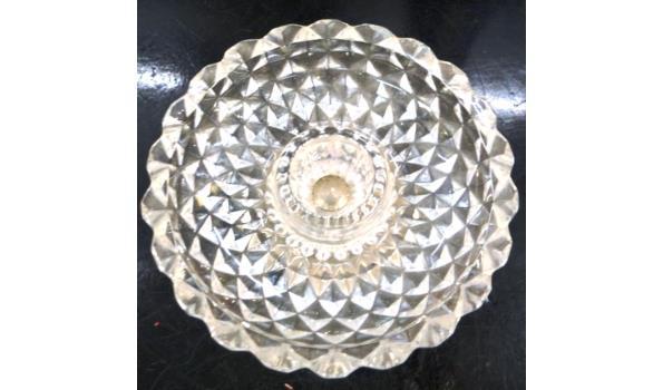 Kristallen schaal