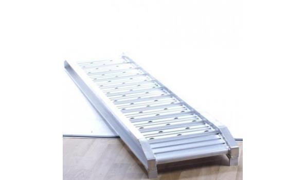 Oprijplank aluminium