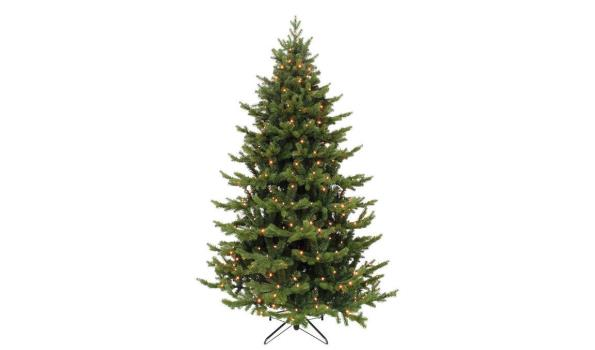 Kerstboom, (kunst) incl. standaard en 180 LED lampen