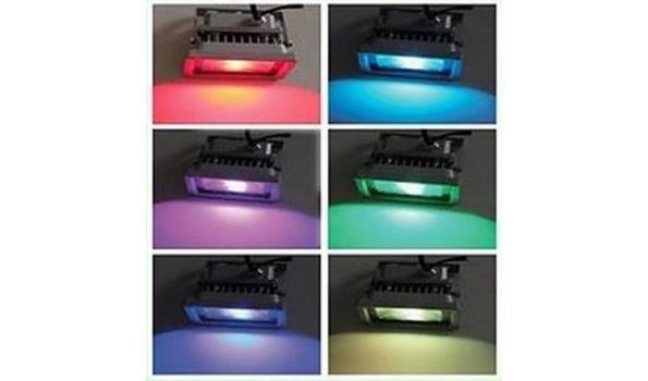 LED stralers Flat, 10 watt 6 stuks