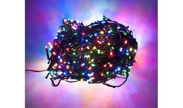 Kerst verlichting 240 lamps Led voor binnen en buiten multicolor 5x