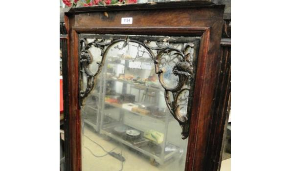 Grote antieke hal/schouwspiegel