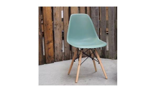 Eetkamer stoel Trend green  3x