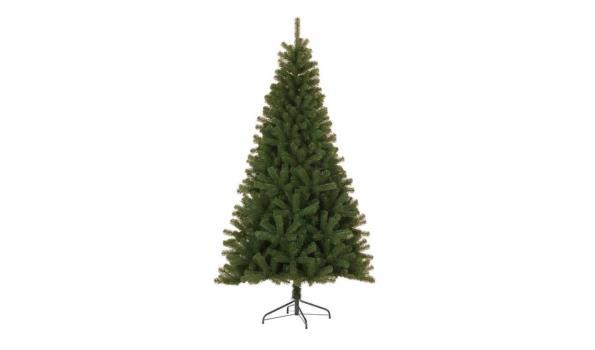 Kerstboom, (kunst) incl. standaard en 100 LED lampen
