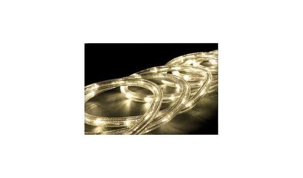 Lichtslang 50 LED, 5 meter, warmwit 2x