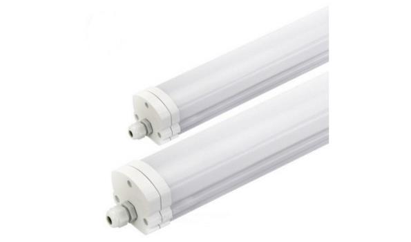 LED BALK met Spatwaterdicht armatuur, 2x
