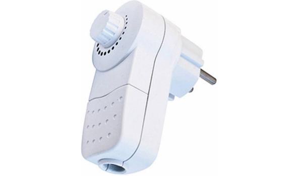 Stopcontact dimmer met randaarde 2x