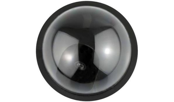Beveiligingscamera Dome met sensor, dummy,Led 12x