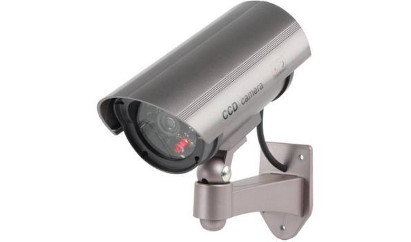 Beveiligingscamera met sensor, dummy,Led 12x