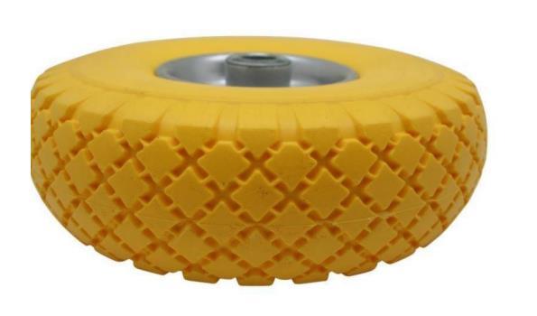 Reserve wiel, compleet met anti-lekband, 4x