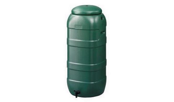 Regenton donker groen
