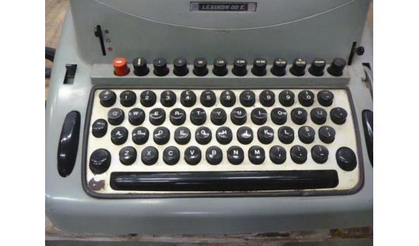 ouderwetse type machine