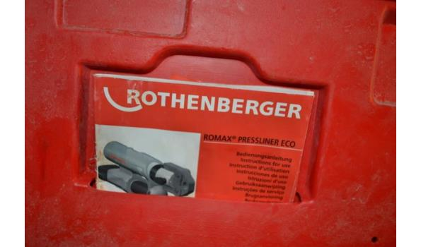 Rothenberger koppeling pers