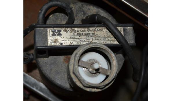 Hanning & Kahl dompelpomp - type K2
