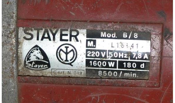Stayer haakse slijper - model B/8