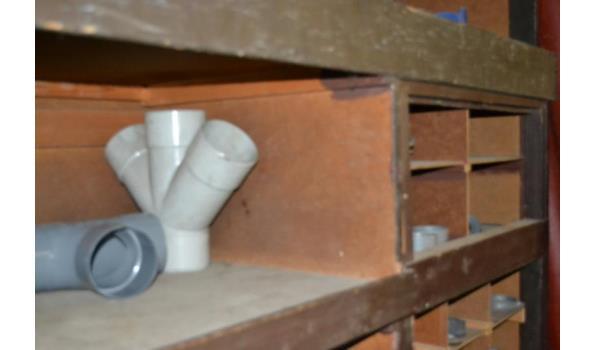 Inhoud stelling o.a. PVC moffen