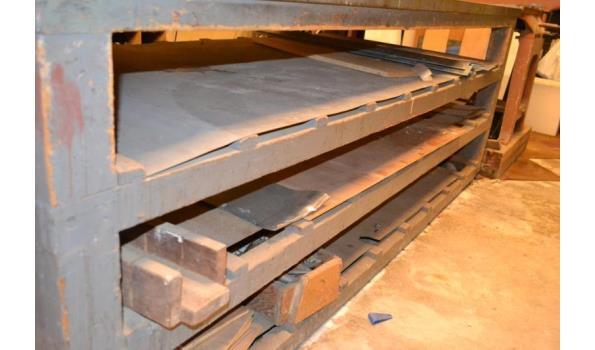 Werktafel - 255x107x90 cm