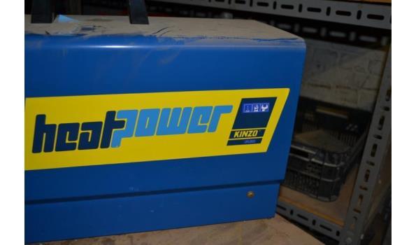 Kinzo heatpower werkplaats heater