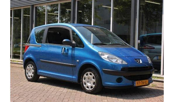 Peugeot 1007 1.4 Bj. 2006 Kenteken 97TNKL