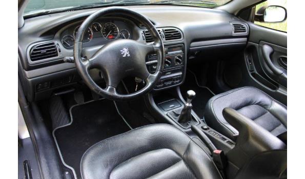 Peugeot 406 2.0- 16V bj 1999 Kenteken XTGF05