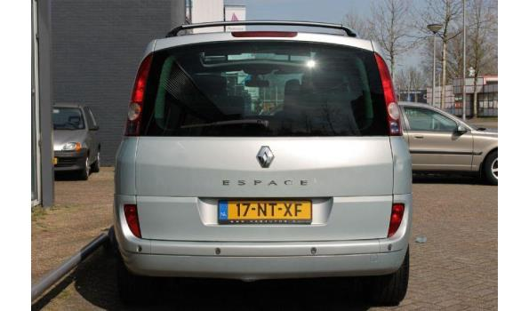 Renault Espace 2.2dCi Bj. 2004 Kenteken 17NTXF