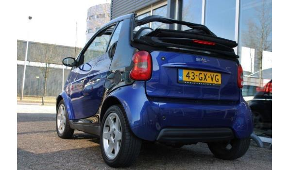 Smart Fortwo 0.7 Bj. 2001 Kenteken 43GXVG