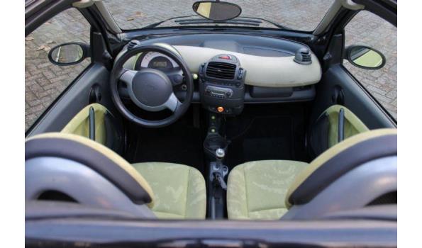 Smart Fortwo 0.7 BJ. 2003 Kenteken 52NGHV