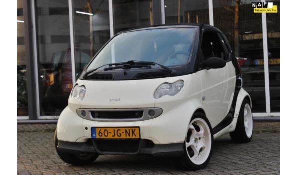 Smart ForTwo Cabrio Bj. 2002 Kenteken 60JGNK