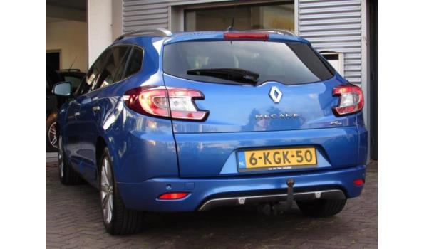 RENAULT MÉGANE ESTATE Bj.2012 Kenteken 6KGK50