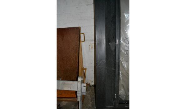 Omlijsting dakraam - 148x240x20 cm