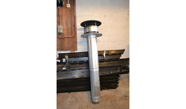Schoorsteenpijp - 120 cm