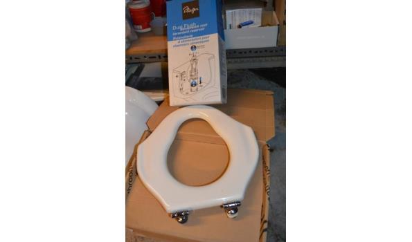 WC bril en Dual Flush