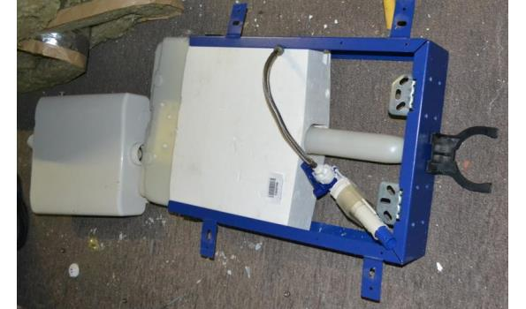 Inbouwreservoir voor hangend toilet