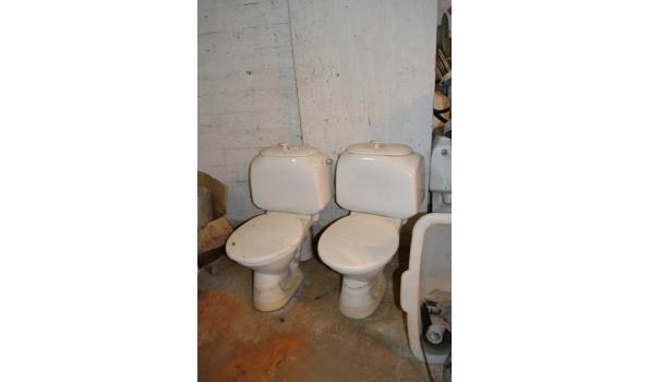 WC pot - 2 stuks