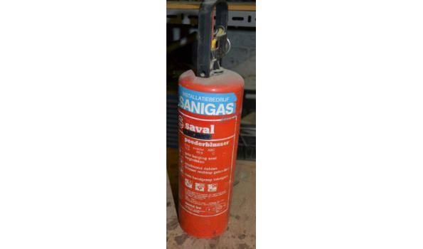 Saval brandblusser - 2 kg poeder