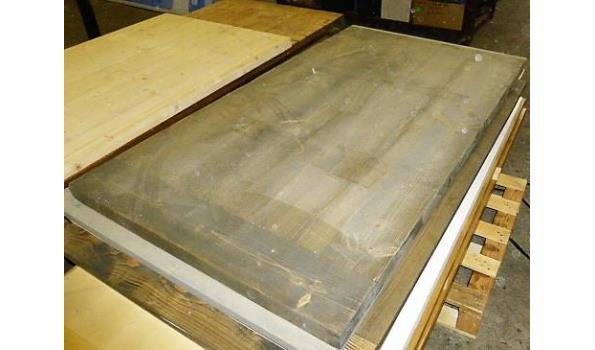 Tafelblad, grey washed