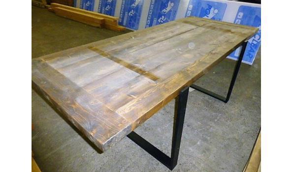 Tafelblad, brown washed