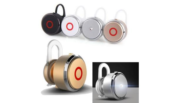 Bluetooth Draadloze Oordopjes Mono M2 - Zilver