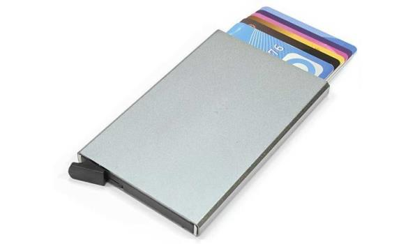 Creditcardhouder Rfid Protected - Zilver