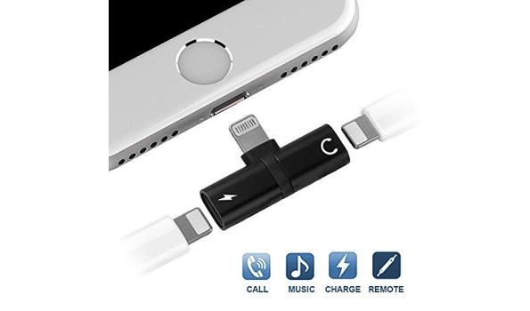 Iphone Splitter - Zwart
