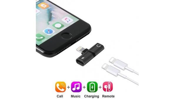 Iphone Splitter - Zwart