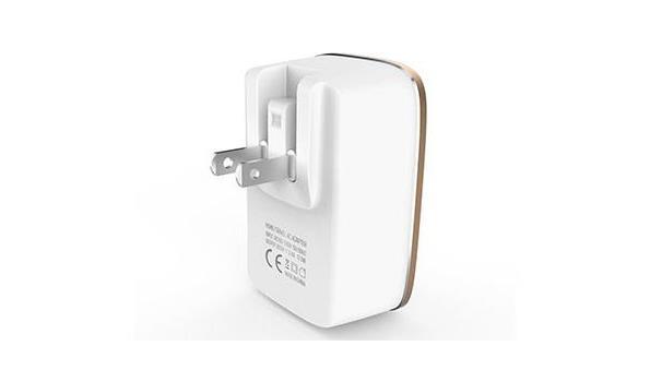 Stekkerdoos 3 USB Poort - Wit (designe)