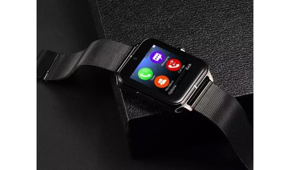 Smartwatch Luxe - Zwart