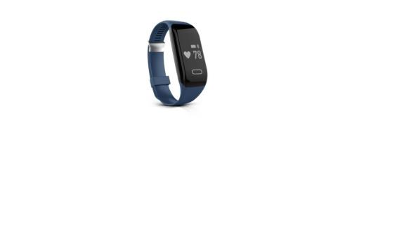 Activitytracker; blauw